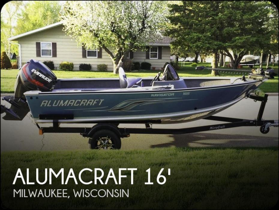 2013 Alumacraft Navigator 165 CS
