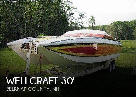 1986 Wellcraft 30 Excalibur Cat