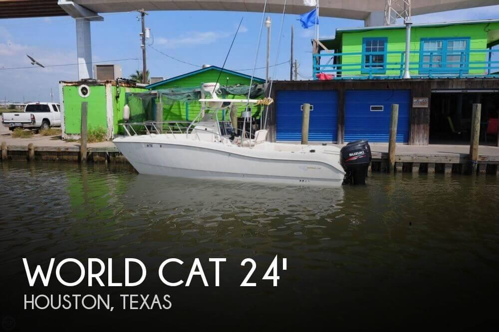 1998 World Cat 246 Sport Fish