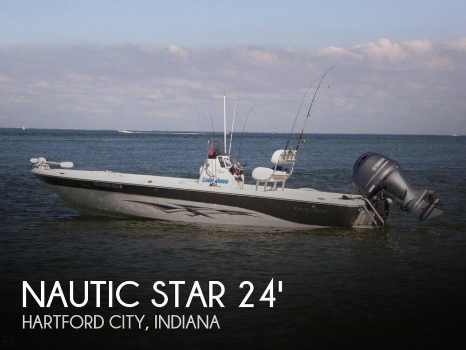 2014 Nautic Star 2400 Sport Bay