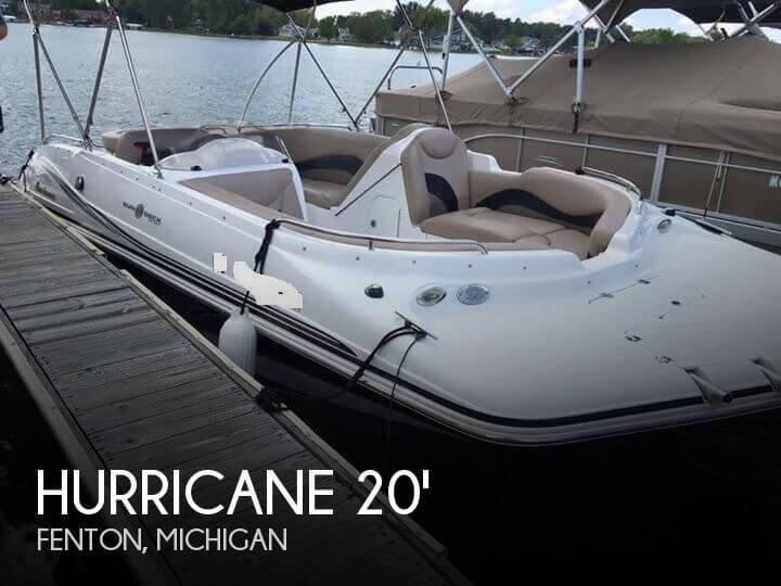 2014 Hurricane SunDeck Sport 202