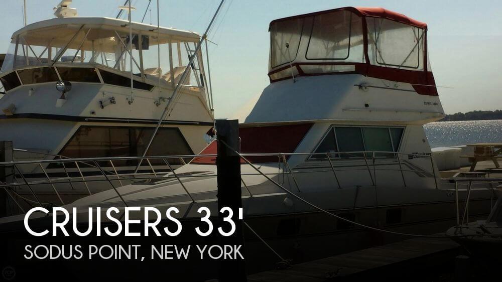 1989 Cruisers Yachts Esprit 3380