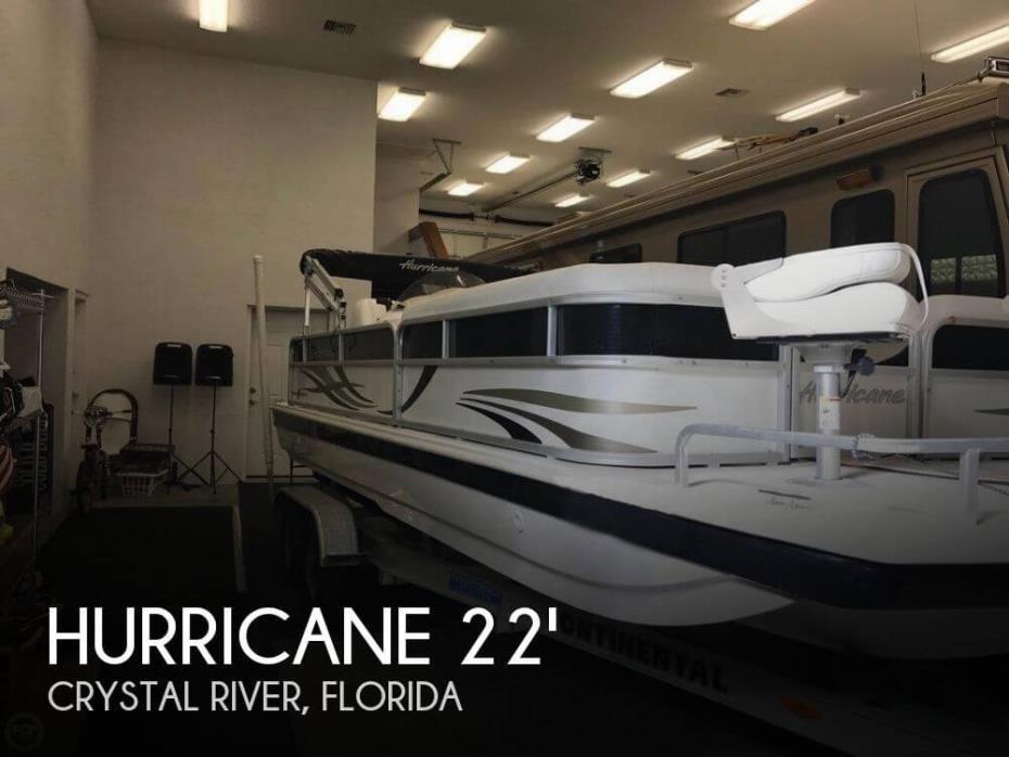 2013 Hurricane 226 Fundeck