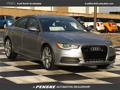 Audi : A6 Premium Plus Diesel Navigation Sport New 2015 Audi A6 TDI Heated Leather Bluetooth AWD Camera Warm Weather Sport