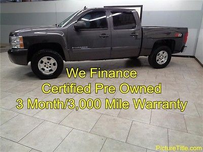 Chevrolet : Silverado 1500 LT Z71 4WD Crew Cab 10 silverado 1500 z 71 4 wd crew 6 passenger warranty we finance texas