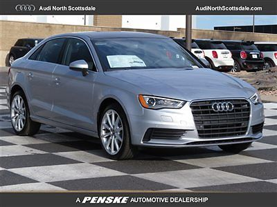 Audi : A3 Premium Plus Diesel Navigation 2015 audi a 3 navigation bluetooth diesel camera sirius black leather xm