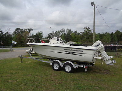 2000 Hydra Sports 212 CC Center Console w/ Johnson 150hp Ocean Pro -- We Export