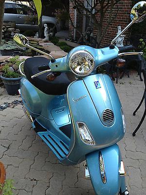 Other Makes : Vespa  2012 vespa lx 150 baby blue 1 375 miles