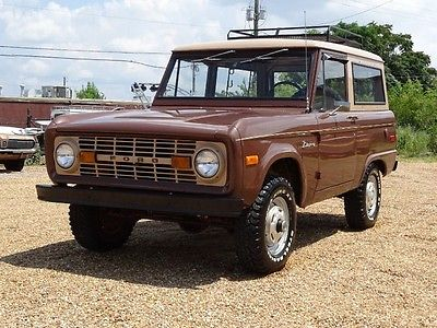 Ford Bronco Cars For Sale In Alabama