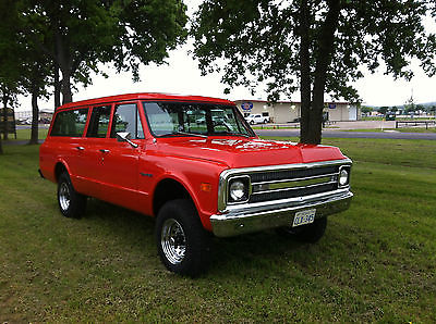 Chevrolet : Suburban K-20 Custom Classic Fully Restored 1970 K-20 three door suburban 4x4
