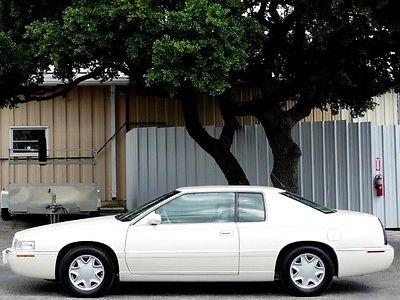 Cadillac : Eldorado ESC V8 FWD LOW MILES 275HP LEATHER CRUISE POWER HEATED SEATS STEERING CONTROLS