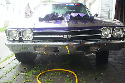 Chevrolet : Chevelle 1968 1969 chevelle ss streetrod hotrod ratrod street hot rat rod 68 69 chevy