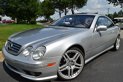 Mercedes-Benz : CL-Class AMG 2000 mercedes benz cl 500 coupe auto amg exhaust suspension loaded sunroof clean
