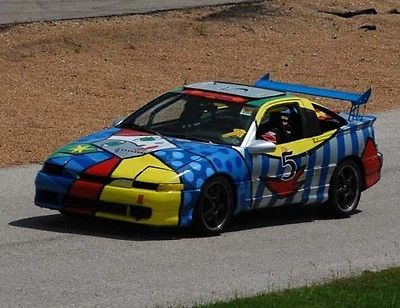 Mitsubishi : Eclipse Eagle Talon 1990 eagle talon turbo awd dsm 1 g chump car 24 hours of lemon s race car racing