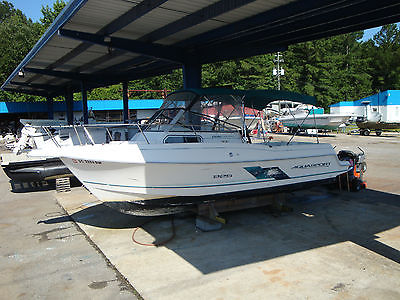 1997 AquaSport 225 Explorer - Enclosure - Very Solid - Yamaha Controls-We Export