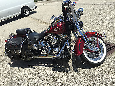American Classic Motors : FLSTS HARLEY DAVIDSON FLSTS SPRINGER ONE OF A KIND!