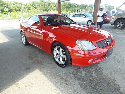 Mercedes-Benz : SLK-Class *LOW MILES* 2001 mercedes benz slk
