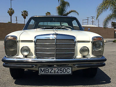 Mercedes-Benz : 200-Series Touring Coupe 1971 mercedes benz 250 c coupe rare factory two tone floor shift with sunroof