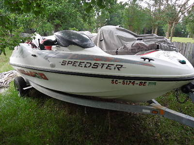 1998 SeaDoo Speedster. BiMini Top. 220HP Fresh Engines With Paperwork. Got To Go