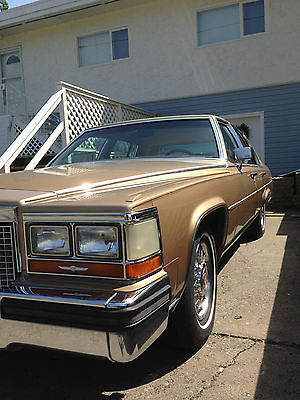 Cadillac : Brougham D;elegance 1987 cadillac brougham d elegance 43041 org miles 307 olds reduced