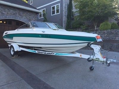 1994 SeaSwirl 190SE with a 5.0 SVT Mustang Engine and Trailer