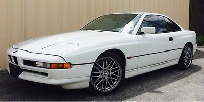 BMW : 8-Series Base Coupe 2-Door 1995 bmw 8 series 840 ci beautiful car clean carfax