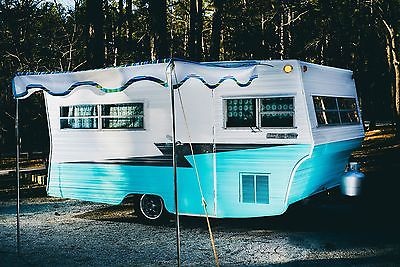 1971 Aristocrat LoLiner Glamper Vintage Travel Trailer Camper Scotty Shasta
