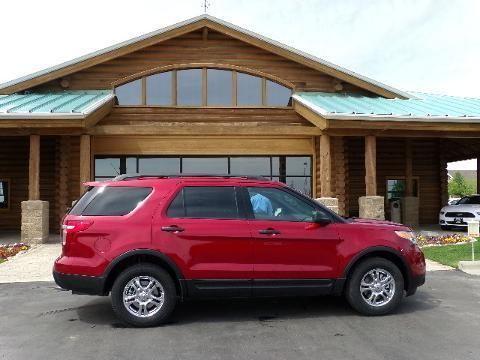 2013 FORD EXPLORER 4 DOOR SUV