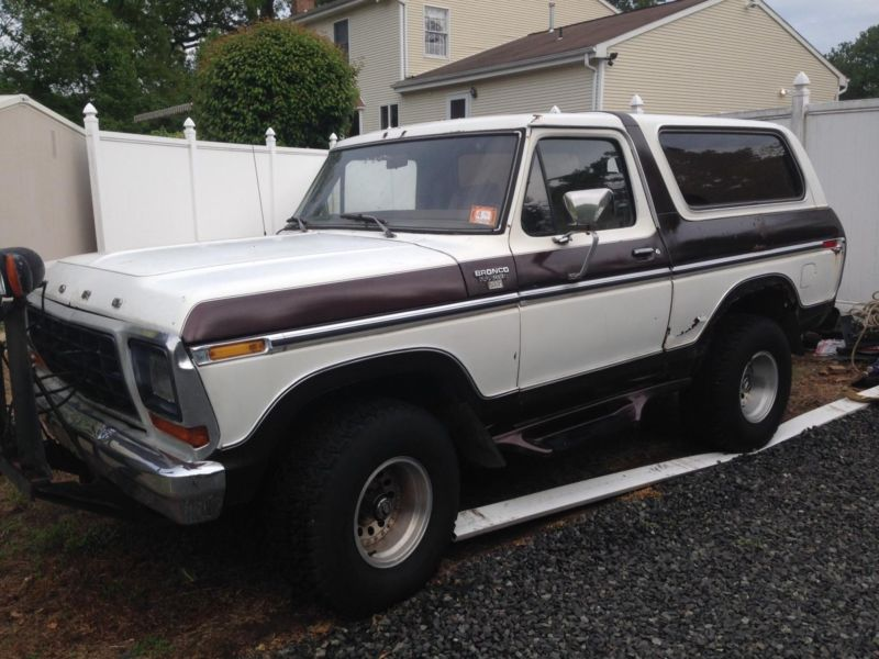 1979 ford bronco xlt cars for sale. Black Bedroom Furniture Sets. Home Design Ideas