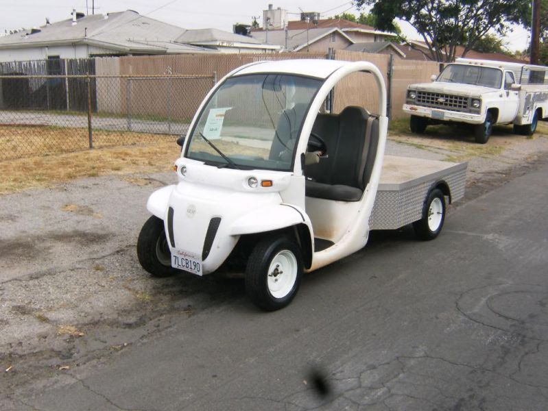 2002 GEM Electric Car Golf Cart Utility Cart Street Legal