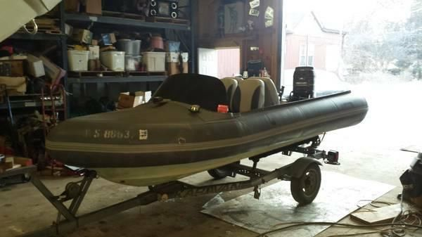14ft Avon RIB, DInghy like zodiac