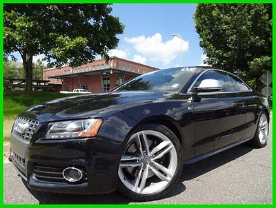 Audi : S5 4.2L CLEAN CARFAX 6-SPEED WE FINANCE! 4.2 l 6 speed navigation sunroof bang olfusen sound new tires