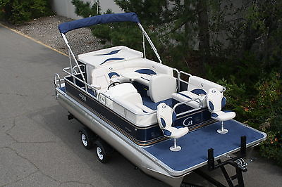 Factory direct pontoon boats-New 20 ft Grand Island T series