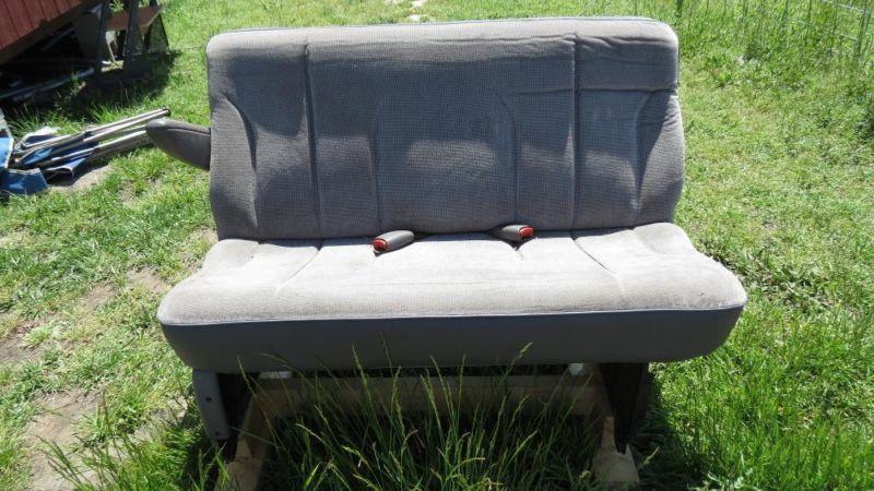 Second Row Seat for Mini Van