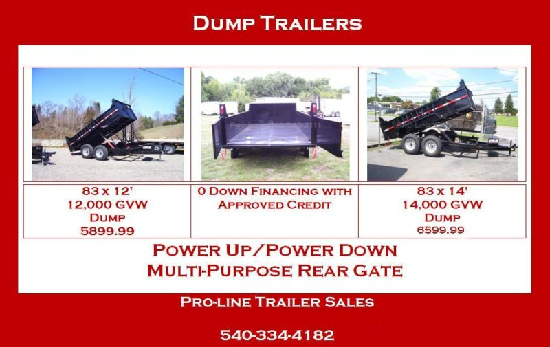 7 x 12 dump trailer