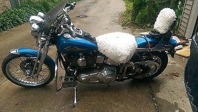 Harley-Davidson : Sportster 1997 harley sportster blue never dropped needs a new home very good condition