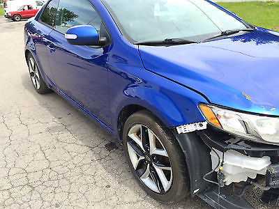 Kia : Other SX Coupe 2-Door 2010 kia forte koup sx coupe 2.4 l 6 speed leather salvage damaged rebuildable