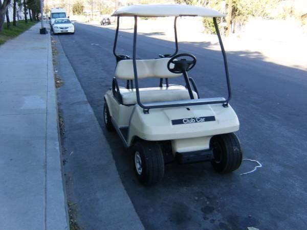 Golf Cart Club Car with charger