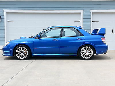 Subaru : Impreza WRX STI Sedan 4-Door 2007 subaru impreza wrx sti sedan awd one owner