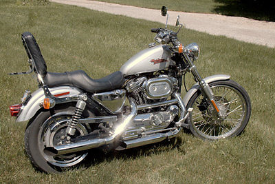 Harley-Davidson : Sportster 2001 harley davidson sportster xl 1200 c with extras