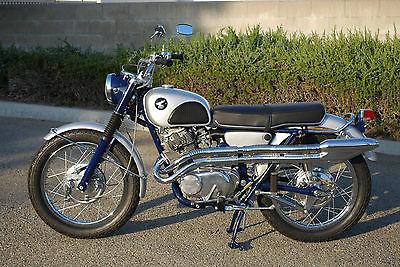 Honda : CL 1966 honda cl 305 scrambler