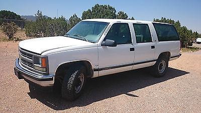 Chevrolet : Suburban SEL 1994 chevrolet surburban 2500 5.7 l v 8