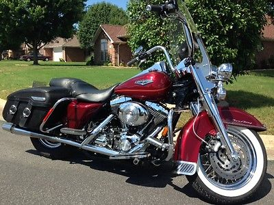 Harley-Davidson : Touring 2001 harley davidson road king flhrci low miles extras beautiful bike
