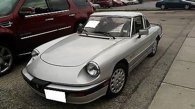 Alfa Romeo : Spider Quadrifoglio Convertible 2-Door 1988 alfa romeo spider quadrifoglio convertible 2 door 2.0 l