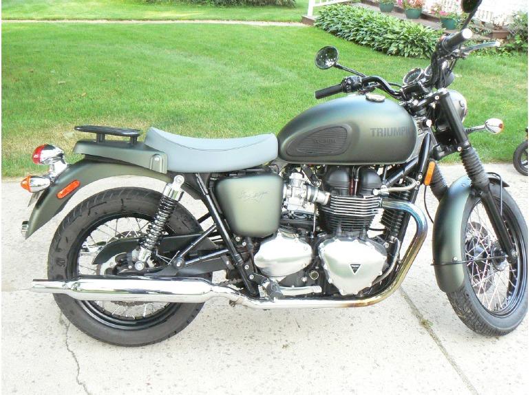 triumph bonneville se steve mcqueen motorcycles for sale. Black Bedroom Furniture Sets. Home Design Ideas