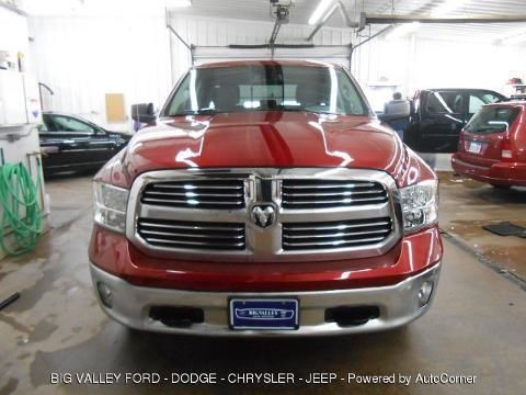 2013 RAM 1500 4 DOOR CREW CAB SHORT BED TRUCK