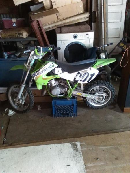 2000  kawasaki 65 dirt bike