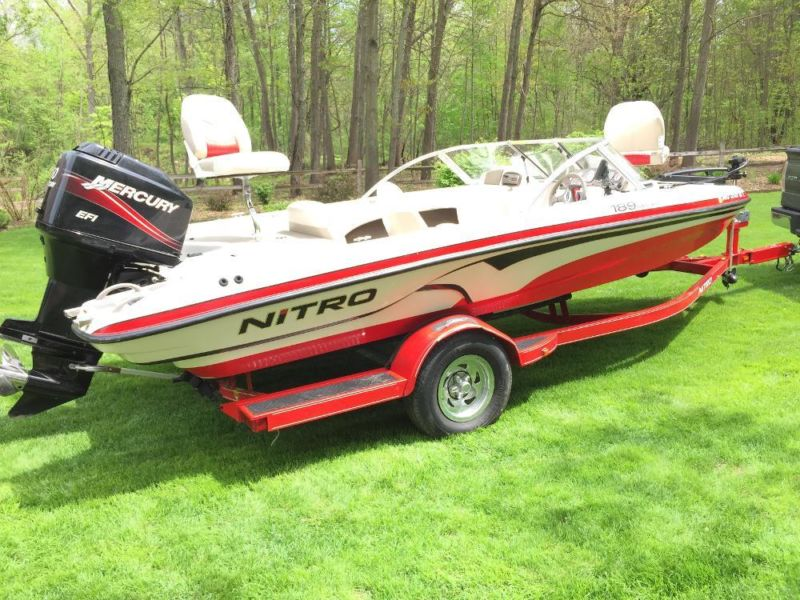 2007 nitro bass boat boats for sale for Bass boats with evinrude motors