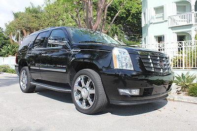 Cadillac : Escalade Luxury Sport Utility 4-Door 2012 cadillac escalade luxury 25 000 miles rear entertainment a c seats