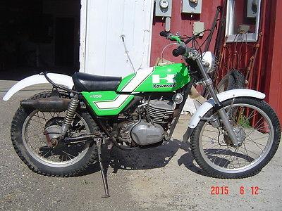 Kawasaki : Other 1976 75 kawasaki kt 250 trials kt 250